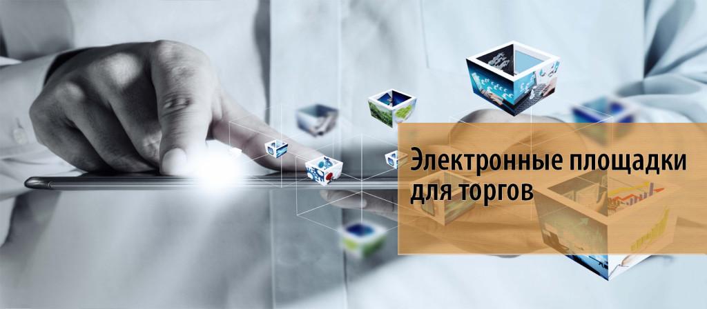 18 Электронные площадки для торгов