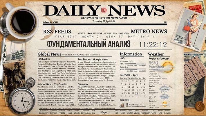 Новости фундаментального анализа