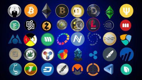 Основные виды криптовалют